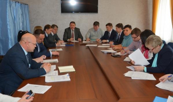 Заседание профильной комиссии.