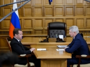 Дмитрий Медведев и Александр Гусев.