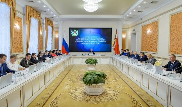 Заседание экспертного совета по вопросам реализации Стратегии социально-экономического развития Воронежской области.
