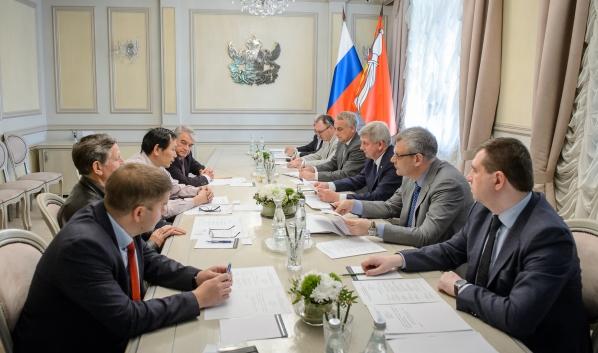 Встреча чиновников и бизнесменов.