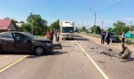 В аварии пострадали четыре человека.