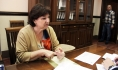 Жительница Масловки на приеме у депутата Госдумы.