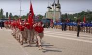 Школьники вступят в Юнармию.