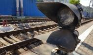 Парень попал под поезд.