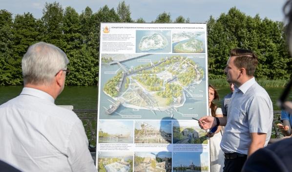 Петровский остров преобразится.