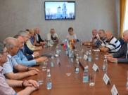 Встреча с делегацией из ФРГ.
