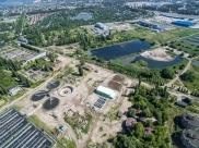 Левобережные очистные сооружения в Воронеже.