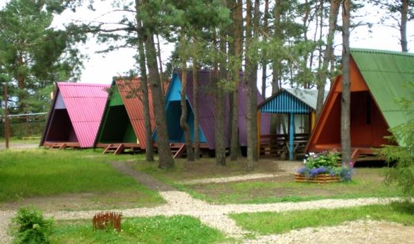 Детский лагерь.