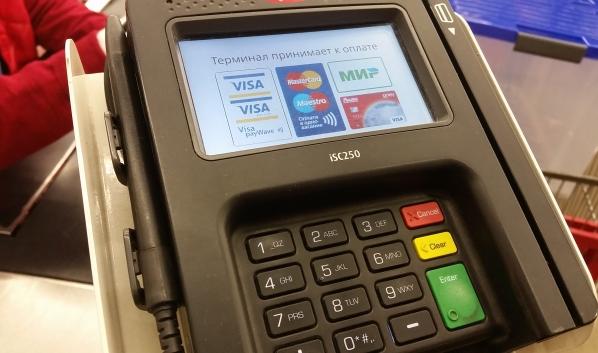 Покупку нужно оплатить картой Visa от Сбербанка.