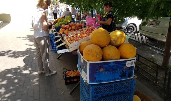 Нелегальная торговля в Ленинском районе.