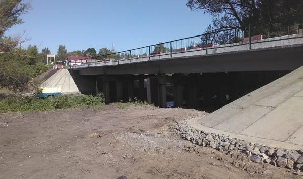 Мост отремонтировали.