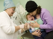 В Воронеже начали делать прививки от гриппа.