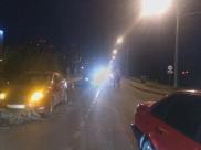 В аварии пострадали двое подростков.