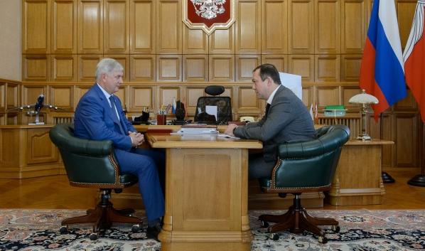 Александр Гусев и Дмитрий Клепов.