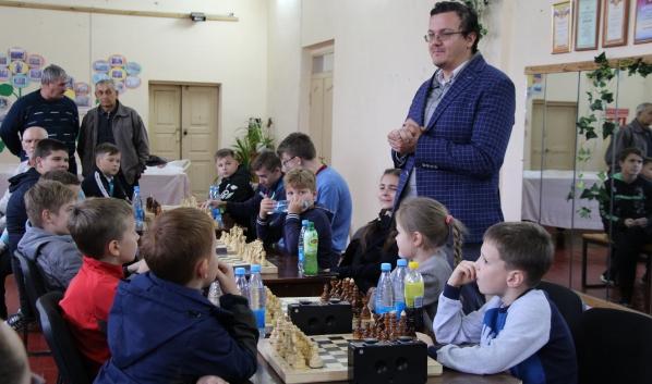 Межрайонный детский шахматный турнир в Елань-Колено.