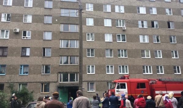 Жильцов эвакуировали.