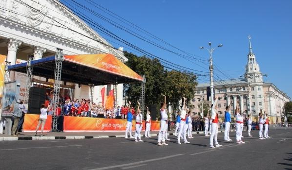 Открытие праздника пройдет на улице.