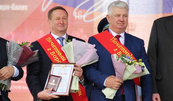 Сергей Ковалев (слева) и Александр Цапин (справа).