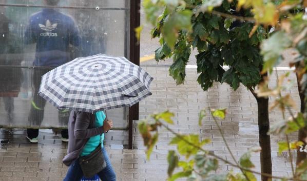 Завтра будет дождь.
