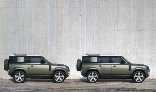 Land Rover Defender - версии 90 и 110.