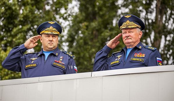 День знаний - 2019 в Военно-воздушной академии.