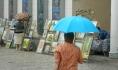 Без зонтов не обойтись.