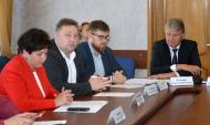 Встреча депутатов горДумы с разработчиками Генплана.