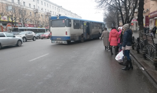 Общественный транспорт Воронежа.