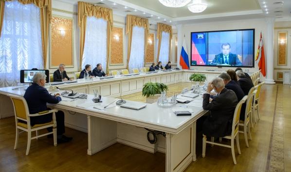 Заседание прошло в режиме видеоконференции.