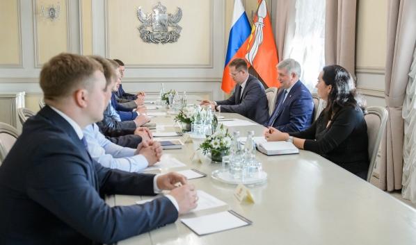 Встреча Александра Гусева с победителями «Команда будущего».