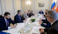 Встреча прошла в правительстве области.