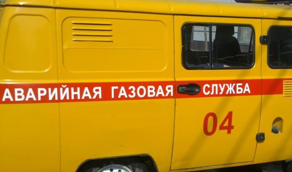 На месте работала аварийная газовая служба.