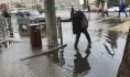 Вот так после дождя в центре города.