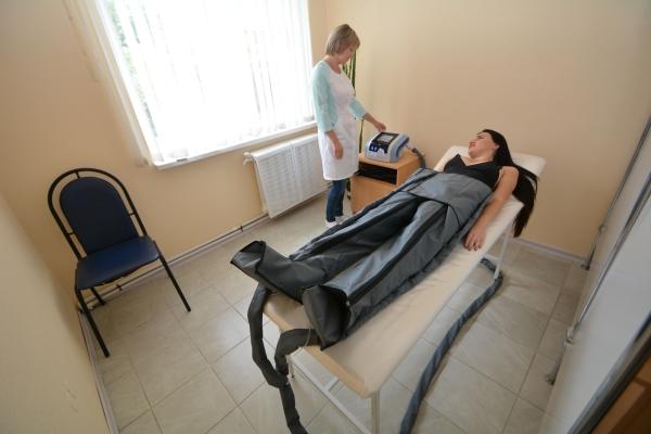 Прессотерапия.