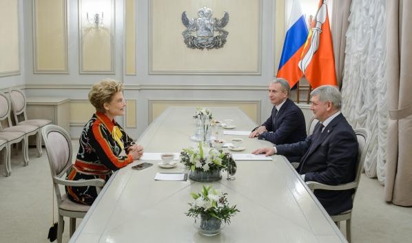 Встреча с Еленой Малышевой.