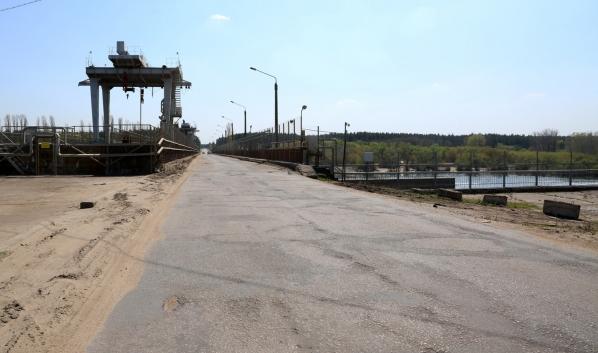 Мост будет закрыт до весны.