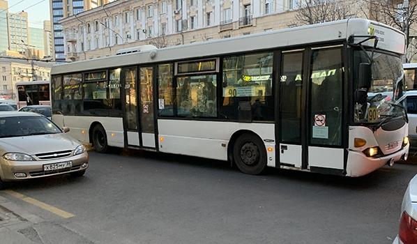 Дополнительные терминалы установят в автобусах большой вместимости.