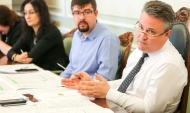 Вадим Кстенин встретился с журналистами.