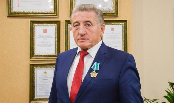 Воронежскому сенатору Сергею Лукину вручили Орден Дружбы.