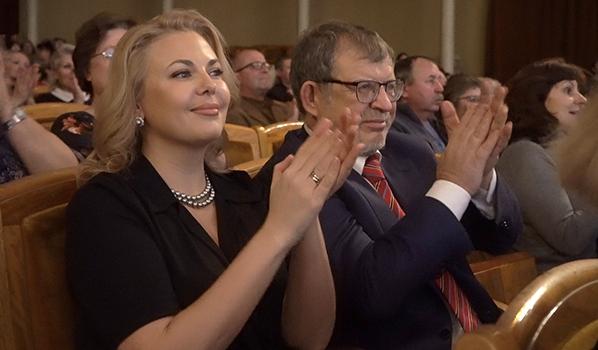 Аркадий Пономарев на концерте.