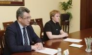 Николай Приставка и Наталия Попова.