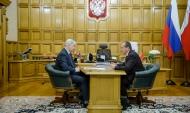 Встреча Александра Гусева с Алексеем Рыжениным.