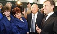 Юрий Лужков (в центре).