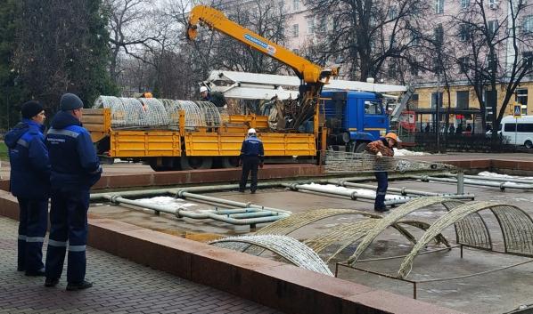 Зимний фонтан откроется уже сегодня.