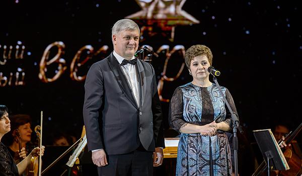 Александр Гусев и Валентина Гусева.
