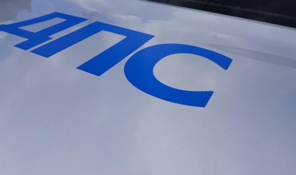 Полицейские помогли водителю иномарки.