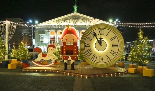 Площадь Ленина в Воронеже.