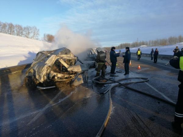 В аварии погибли восемь человек.
