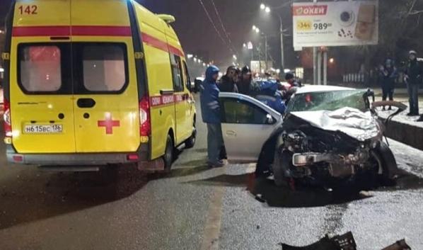 Авария на Московском проспекте.
