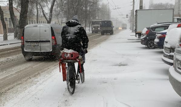 В Воронеже задержится европейская зима.